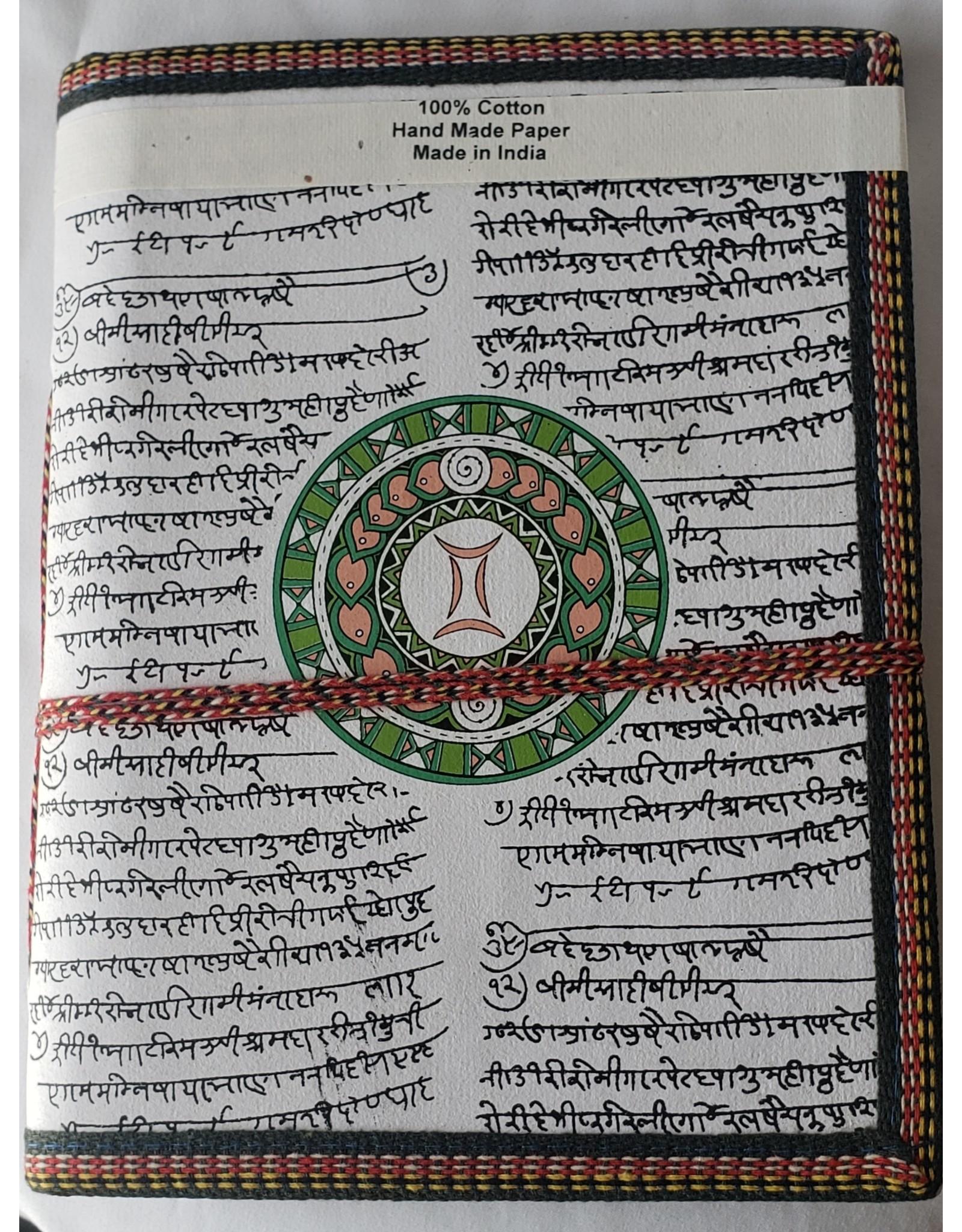 Gemini Zodiac Journal - Large