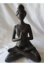 Resin Statue Yoga Lady