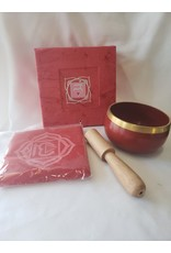 Natures Artifacts Inc. Tibetan Singing Bowl Small - Root Chakra