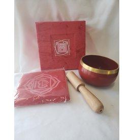 Natures Artifacts Inc. Tibetan Singing Bowl - Root Chakra