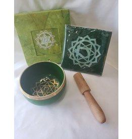Natures Artifacts Inc. Tibetan Singing Bowl - Heart