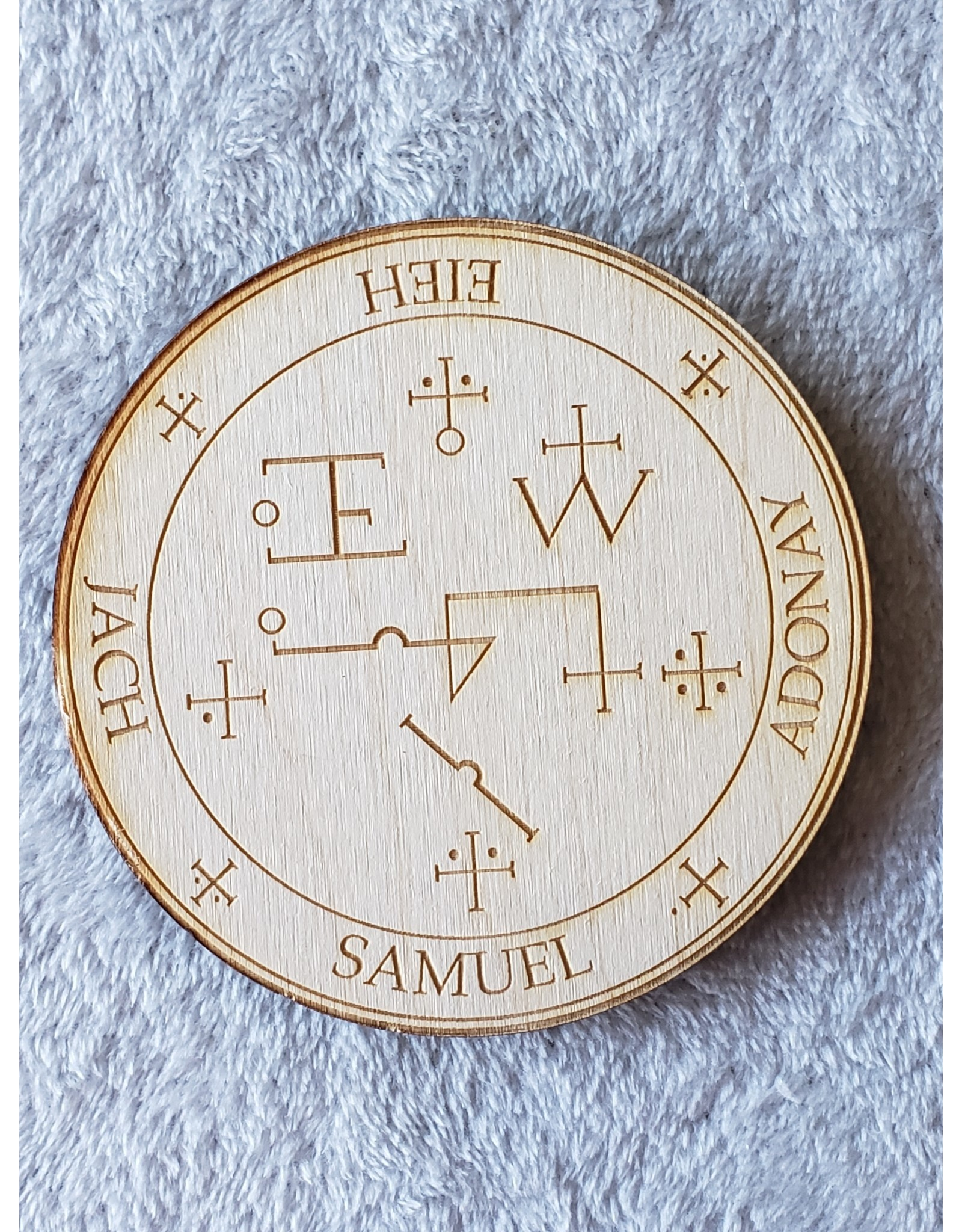 """Zen and Meow Samuel Crystal Grid - 4"""""""