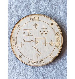 Zen and Meow Samuel Crystal Grid - 4""