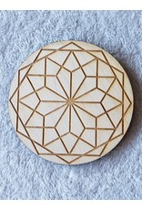 Zen and Meow 12 Pointed Star Crystal Grid - 4""
