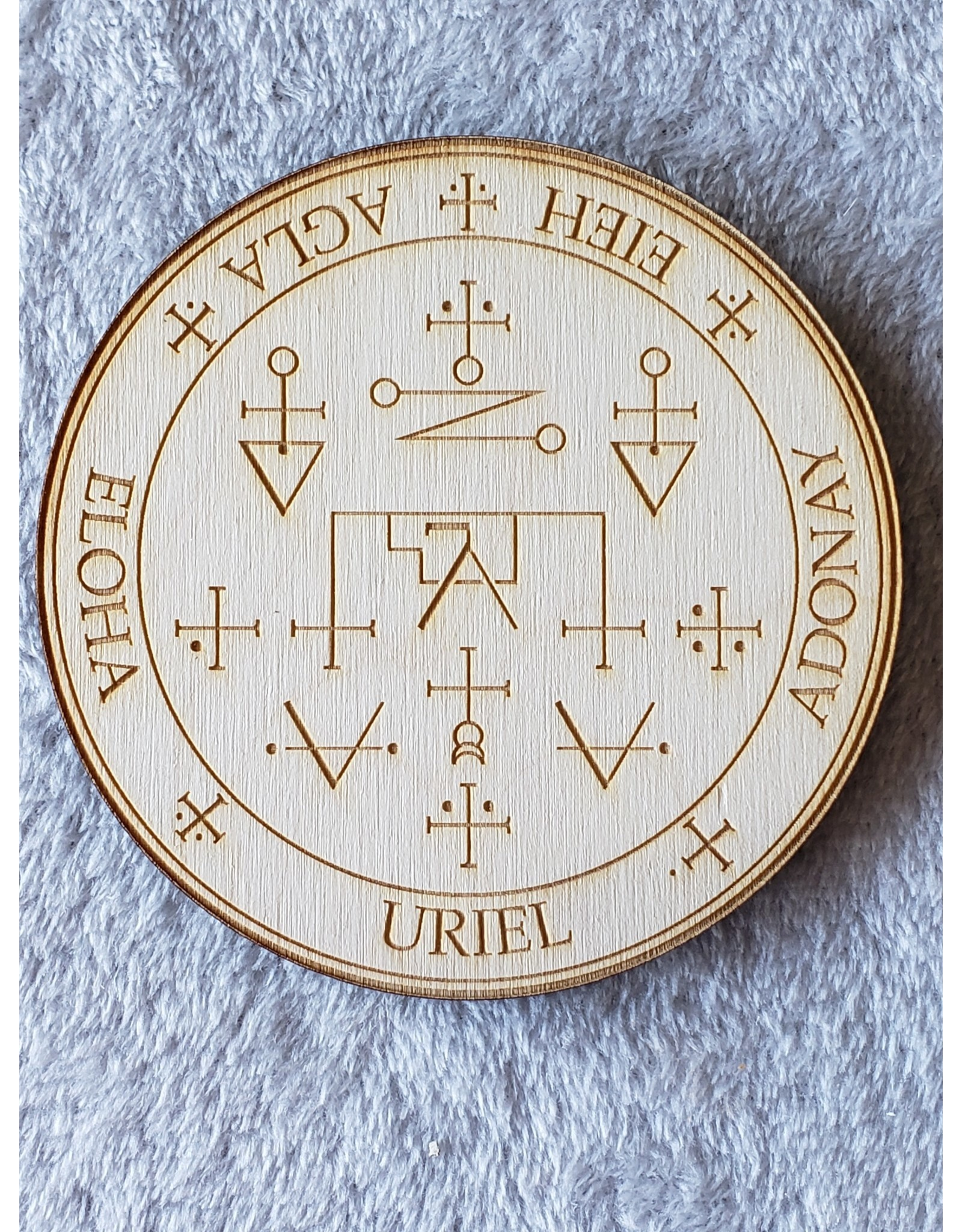 """Zen and Meow Uriel Crystal Grid - 4"""""""