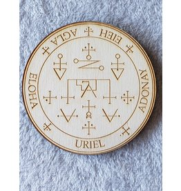 Zen and Meow Uriel Crystal Grid - 4""