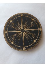 Zen and Meow Compass Magnet