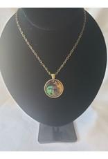 Unique Art Pendants Medusa Brass Necklace