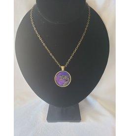 Unique Art Pendants Dragon Brass Necklace