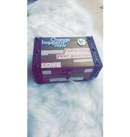 Angel Vaughan Custom Tarot Box