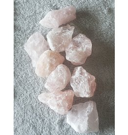 Pikes Peak Rock Shop Natural Rose Quartz Chunks