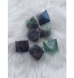JK Stone USA Large Fluorite Octohedron