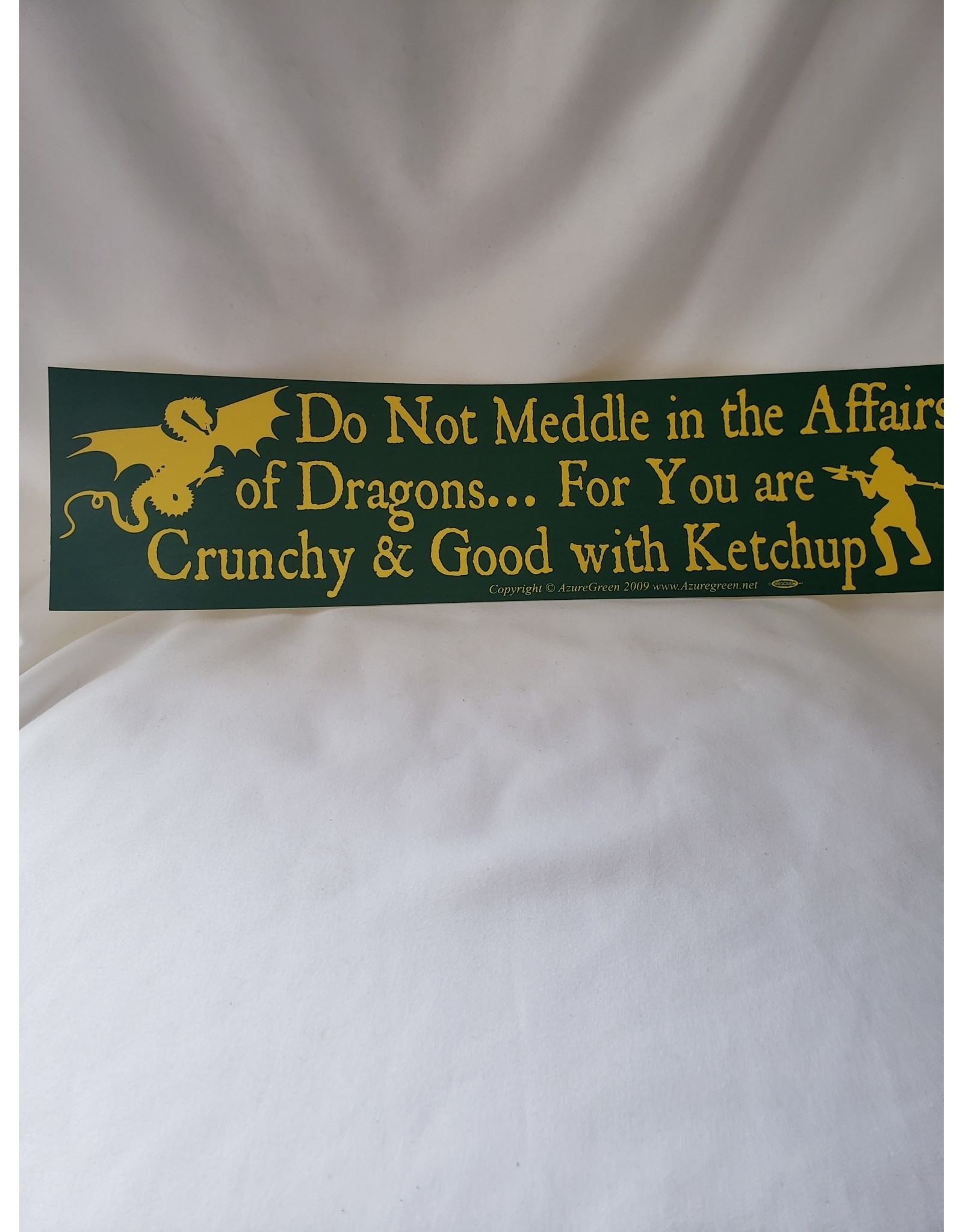 Azure Green Do Not Meddle Dragons