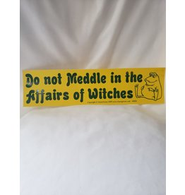 Azure Green Do Not Meddle Witches