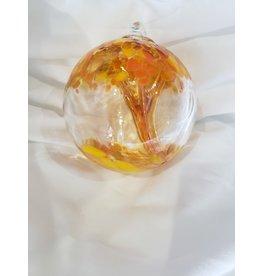 Iron Art Glass Spirit Tree - Mango