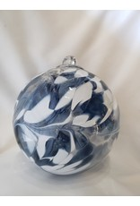 Iron Art Glass Witch Ball - Sky