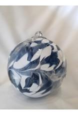 Iron Art Glass Witch Ball - Sky