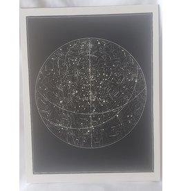"Capricorn Press Capricorn Press - Visible Heavens - 8.5""x11"""