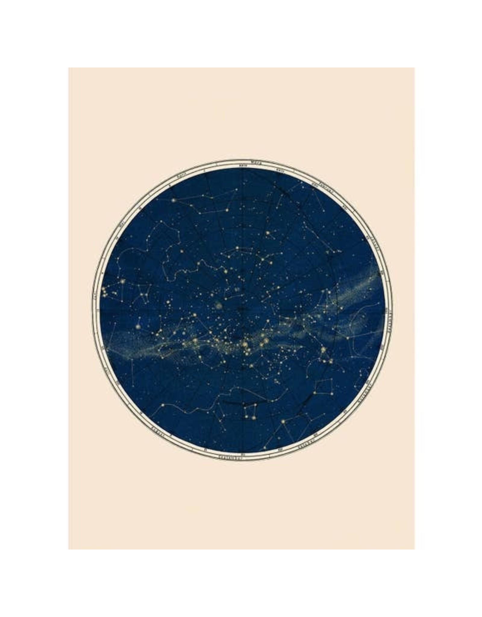 "Capricorn Press Capricorn Press - Blue Constellation Chart Print - 8.5""x11"""