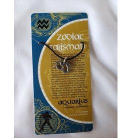 Nirvana Small Zodiac Talismans - Aquarius