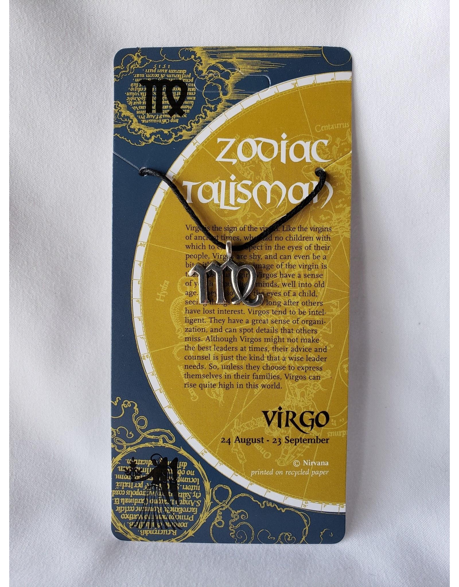 Nirvana Small Zodiac Talismans - Virgo
