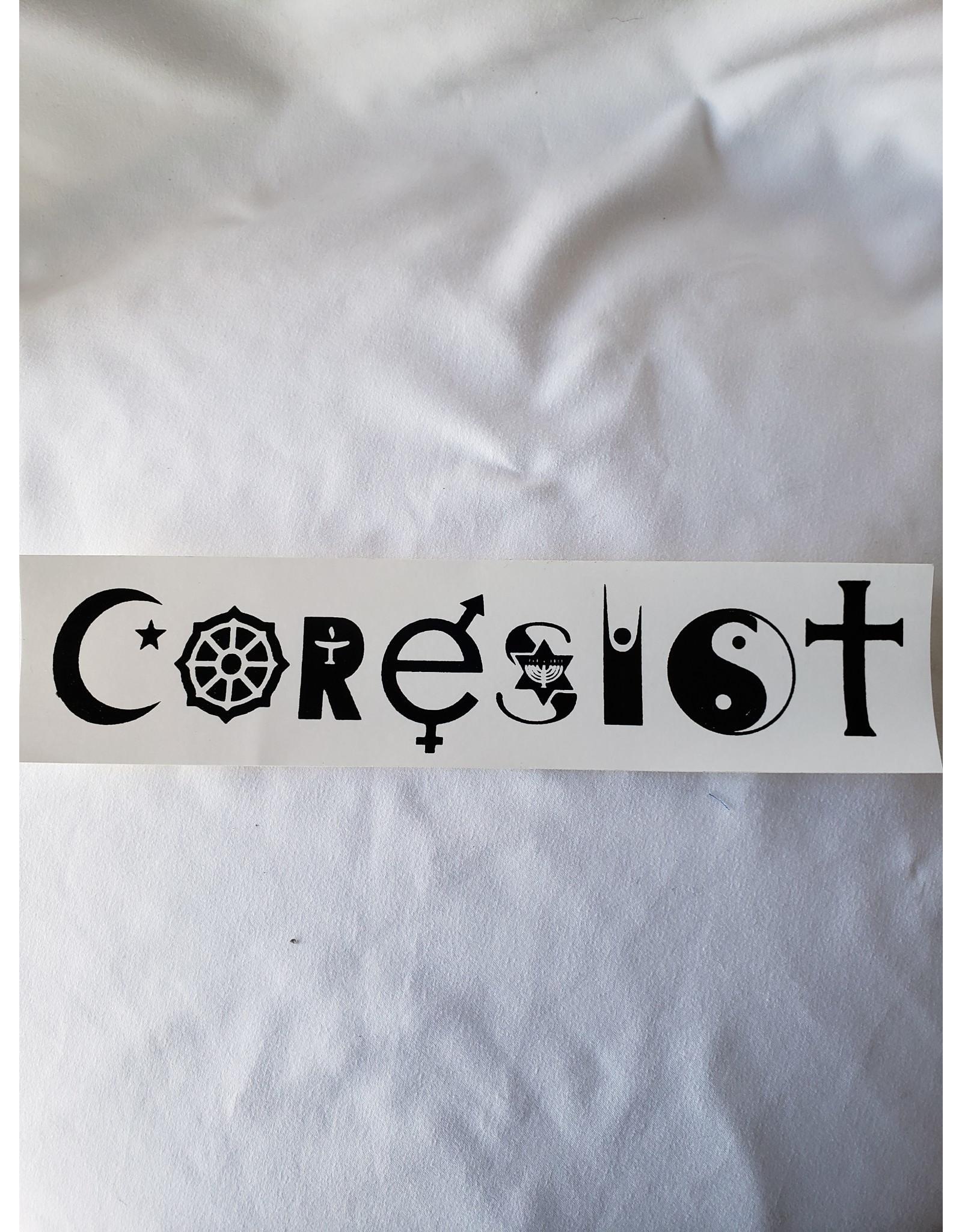 Coresist Sticker