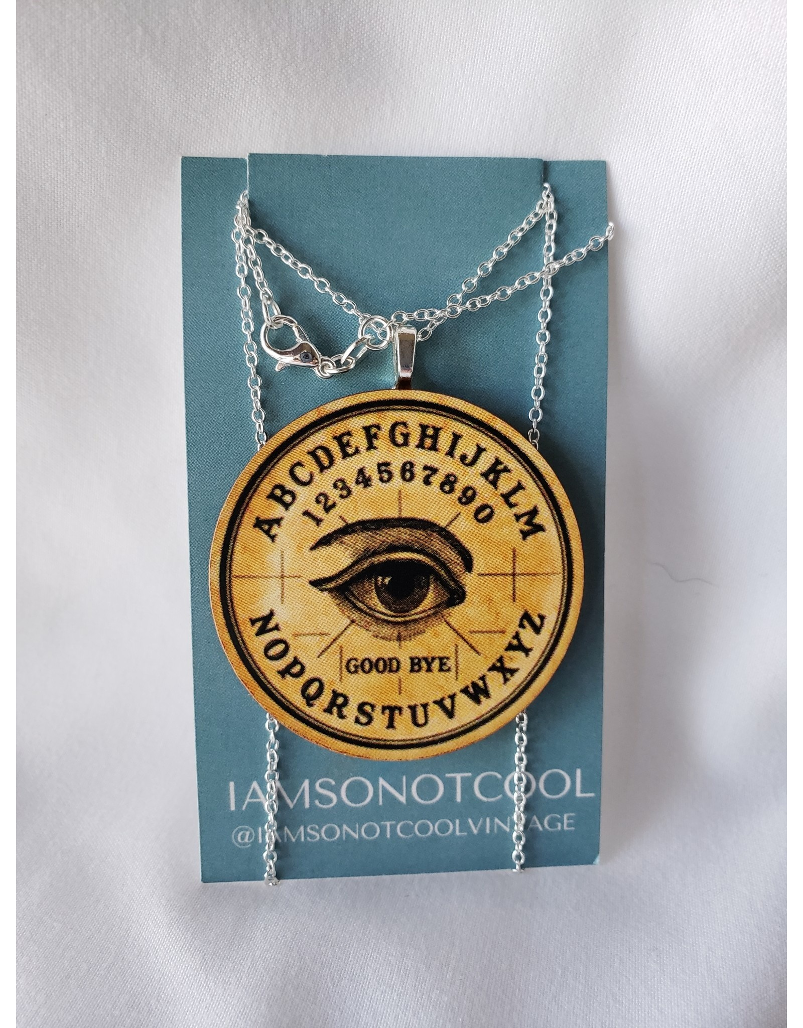 Iamsonotcool Spirit Board Necklace