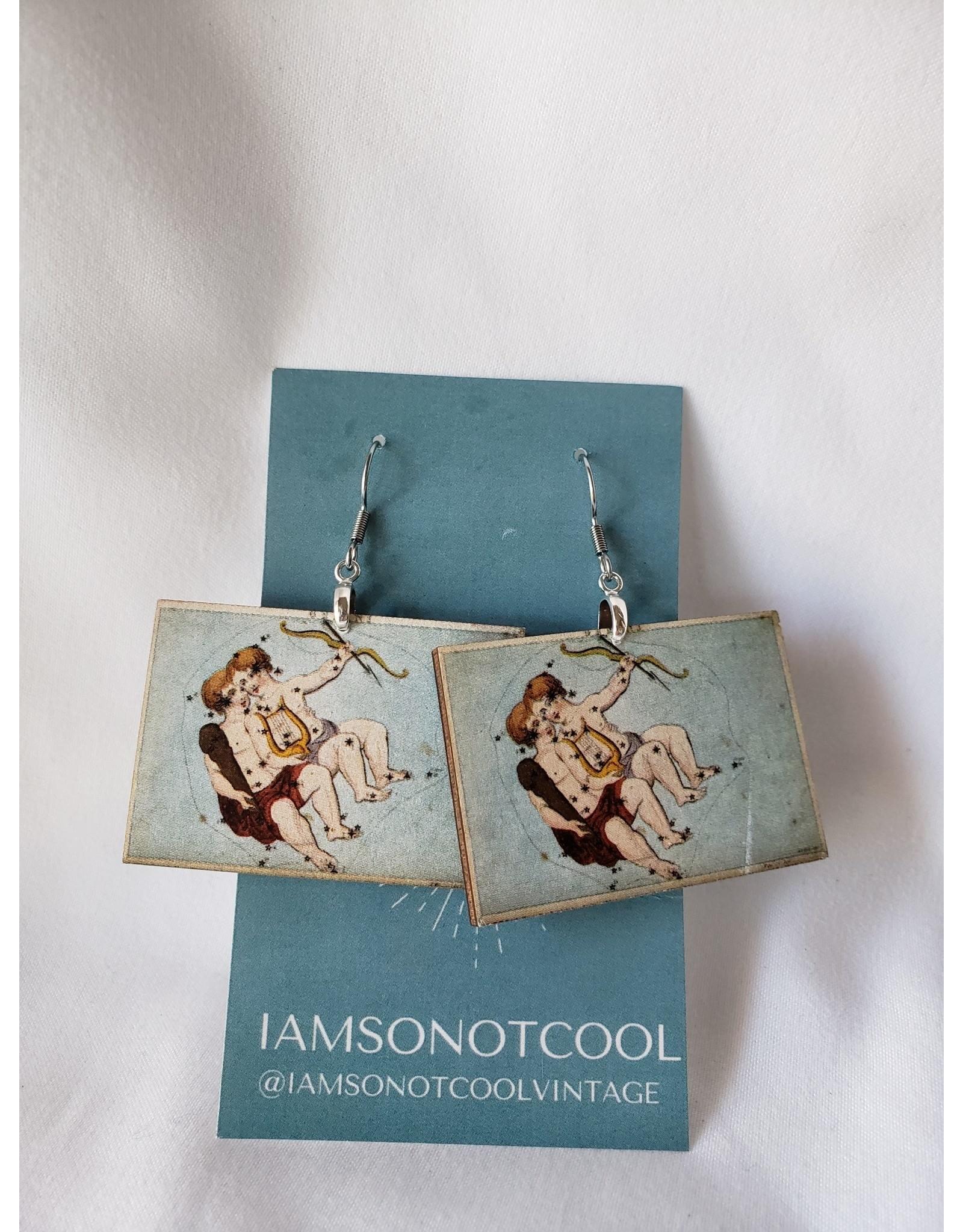 Iamsonotcool Zodiac Earrings - Gemini