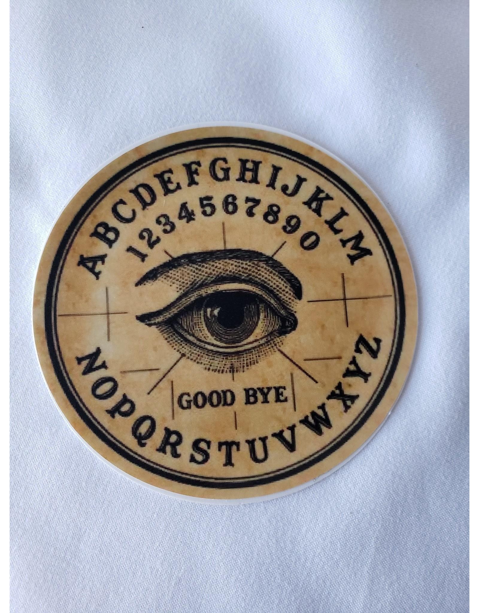 Iamsonotcool Round Spirit Board Sticker