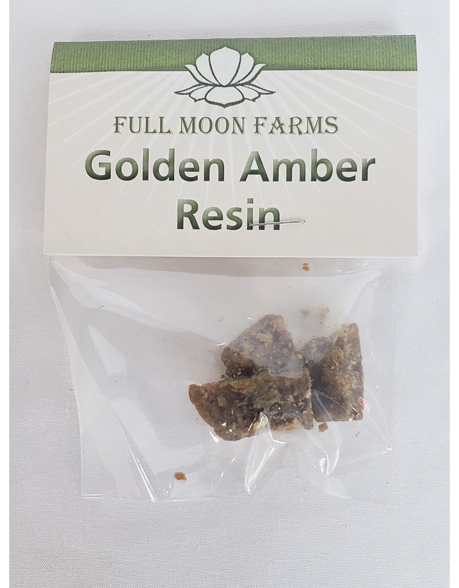 Full Moons Farms Golden Amber Resin - 5gm.