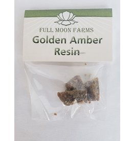 Full Moons Farms Golden Amber Resin - 5gm.