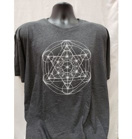 Soul Flower Metatron's Cube Recycled T-Shirt - X-Large