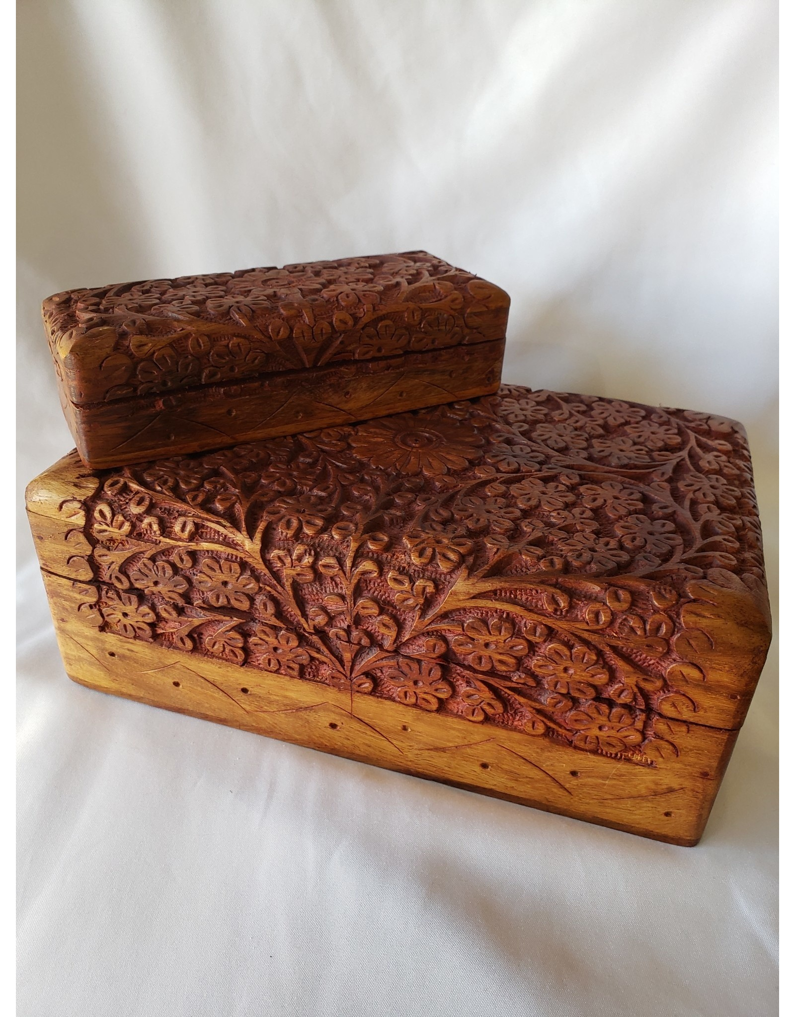 Wooden Jewelry Boxes - Set of 2