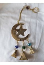 3 Bell Star & Moon Wind Chime
