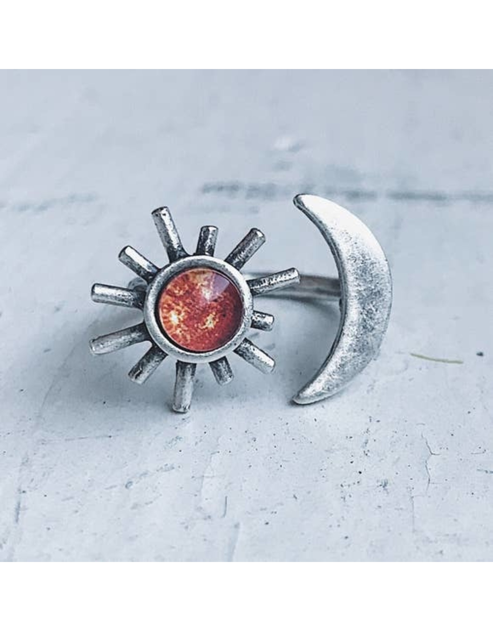 Yugen Tribe - Sun and Moon Ring