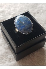 Angel Vaughan Sodalite Silver Ring