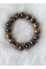 Power Bracelet - Golden Tiger Eye