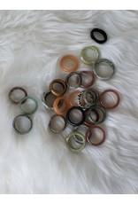 Mixed Semi- Precious Gemstone Rings
