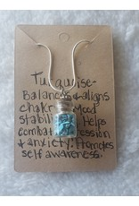 Angel Vaughan Mini Turquoise Bottle Necklace
