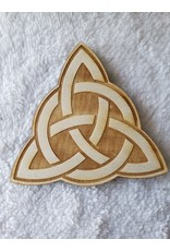 """Zen and Meow Triquetra Crystal Grid - 4"""""""