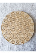"""Zen and Meow Flower of Life Inverted Crystal Grid - 6"""""""