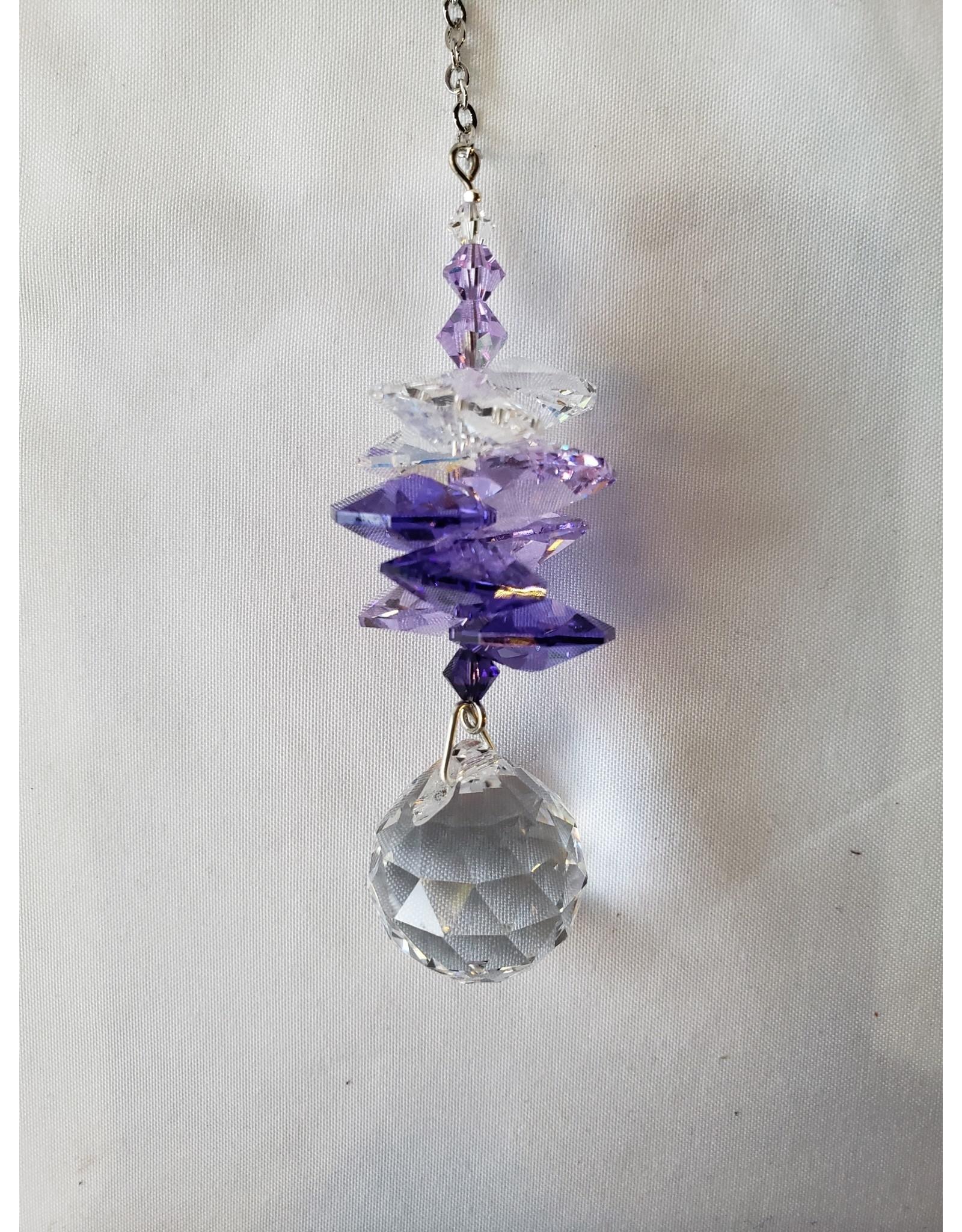 Crystal Sunrise Cascade Purple