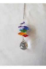 Crystal Rainbow Cascade Ball