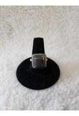 Square Labradorite Ring Sz. 7