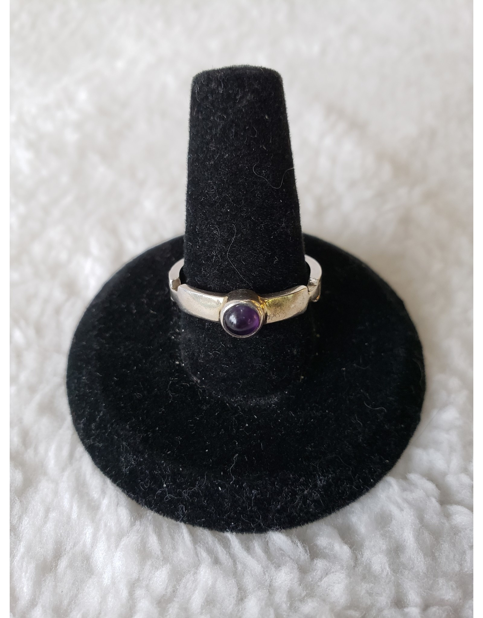 Small Amethyst Ring Sz. 7