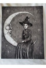 "Moon Magic Art Print 8"" x 10"""