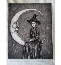 "Moon Magic Art Print 8"" x 10"""