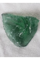 Dyed Glass Obsidian Chunk