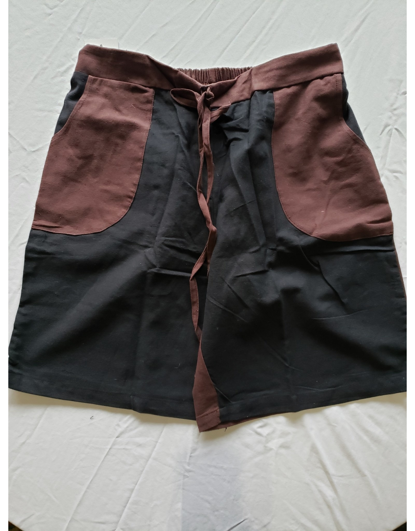 Two - Tone Men's Shorts - Brown - L/XL