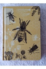 Mini Hardcover Notebook - Bees Dot Grid